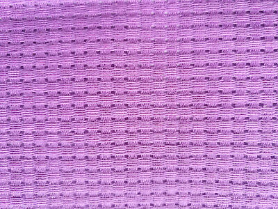 Binca / Aida 6 Count Cross Stitch Lilac Various Sizes Cotton **10% Off 2+**