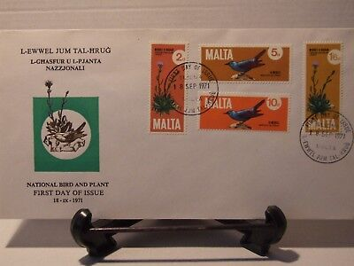 Malta Stamps, first day cover ,nature, 1971