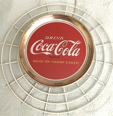 1960 Coca Cola Lighted Sign--Sign of Good Taste