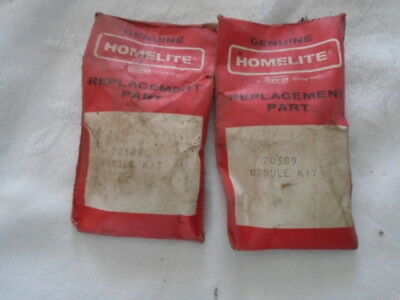 Vintage Homelite Chainsaw Lot Of #2 Module Kits P/n 70589 New Old Stock