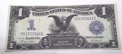 1899 $1 Black Eagle Large Note Silver Certificate **choice Uncirculated 64 - 65