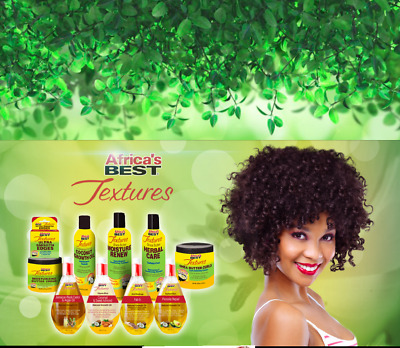 Africa's Best Textures with Shea Butter Shampoo, Conditioner & Growth Oil Range!