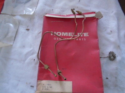 Vintage Homelite Chainsaw Lot Of #2 Oil Lines A-59806  New Old Stock