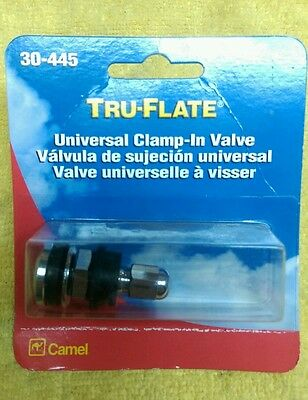 Tru-Flate Universal Clamp-In Valve Part 30-445 Free Shipping