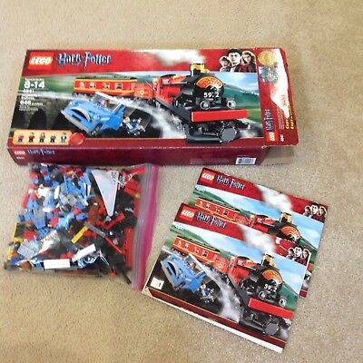 LEGO Harry Potter Hogwarts Express 2010 4841 100% Complete with manuals