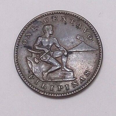 """one Centavo Filipinas"" 1909 Coin. Minted By The U.s.a. In Minila"