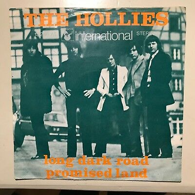 7'' Single The Hollies - Long dark road / Promised land