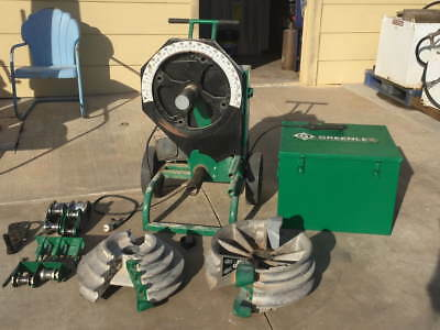 Greenlee 555CX Classic Electric Bender Power Unit with Bending Accessories