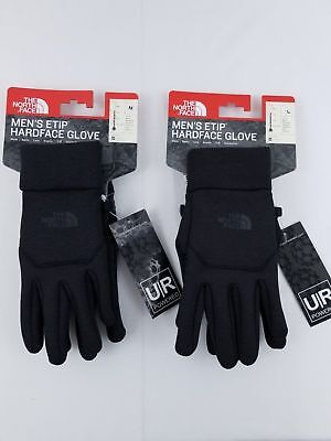 THE NORTH FACE ETIP HARDFACE GLOVES NF0A2T7VPCT BLACK Size Med&Large New