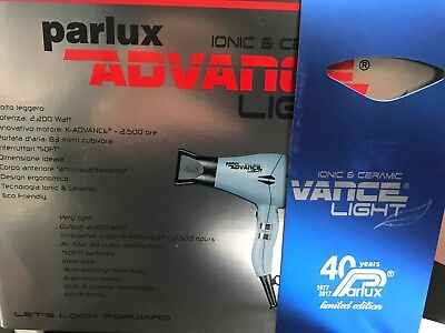 Parlux Advance Light Ionic & Ceramic Hair Dryer - Blue ( LIMITED EDITION )