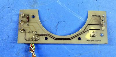 HP 08640-60328 A6 Annunciator Assembly for 8640B Signal Generator