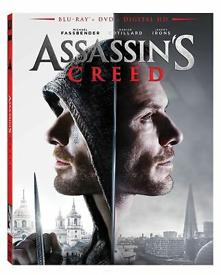 Assassins Creed: Blu-Ray + DVD + Digital HD, New Sealed, Action Movie