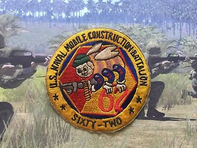 62 , US NAVAL MOBILE CONSTRUCTION BATTALION , sixty two , usn