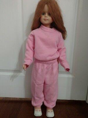 30 inch Redheaded Eegee Doll with red eyelashes
