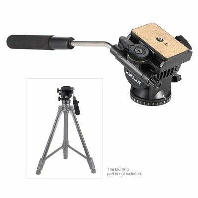 KINGJOY VT-1510 Heavy Duty Fluid Head Pan Head For DV Video Camera DSLR Tripod