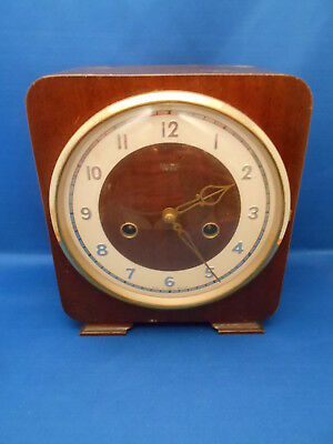 Smiths Enfield striking mantle clock for spares or repair