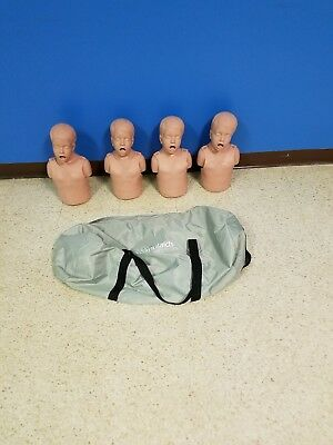 simulaids child cpr manikins (4-pack) with carrying bag