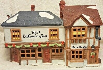 Dept 56 Dickens' Village The Old Curiosity Shop # 5905-6 Excellent Condition!