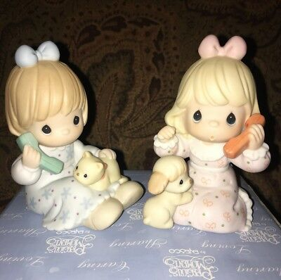 Precious Moment PM0011 Calling To Say You're Special 2001 Members Only Figurine