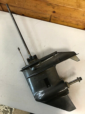"""1980 's Tohatsu M 40 D HP 2 Stroke 20"""" Outboard Lower Unit Freshwater MN"""