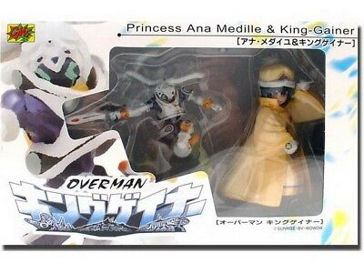 Overman Princess Ana Medaille & King Gainer Figure Set 65751