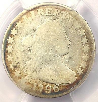 1796 Draped Bust Dime 10C - Certified PCGS Good Details - Rare First Year Coin!