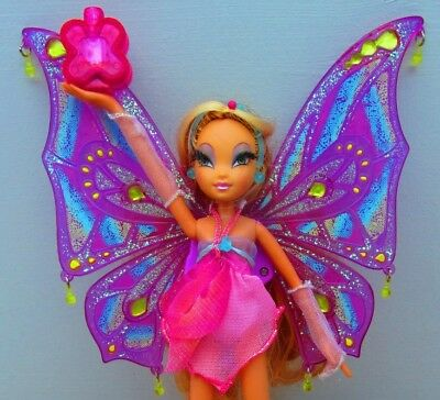 Winx Club Puppe >>> FLORA DOLL Pixie Flight <<< MATTEL 2007 Very RARE - RARITÄT