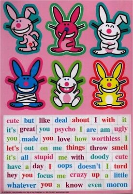 Happy Bunny Magnet Collection BDM104