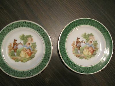 """Vintage - Made in Occupied Japan 6""""  - Wall Display Plates"""