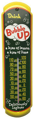 Bubble Up Soda Thermometer Vintage Old Style Sign