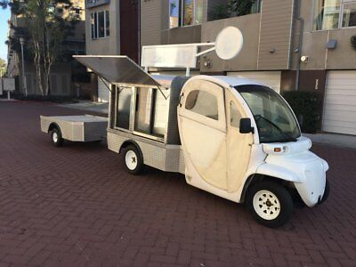 GEM Juice Cart Ready For Mobile Retail Unit Packaged Food Truck & Trailer