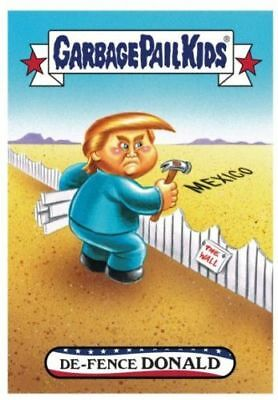 Donald Trump 2016 GPK Garbage Pail Kids #75  White House De-Fence