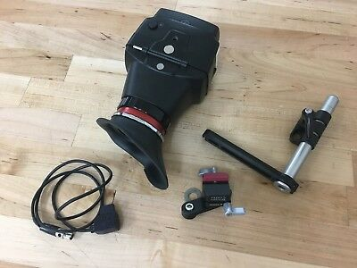 Alphatron EVF-035W-3G Electronic Viewfinder w/ Bracket and P-Tap Cable