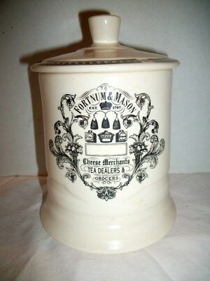 Vintage Porcelain / China Fortnum & Mason Lidded Tea Jar England