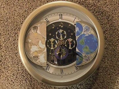 Small World Rhythm Clock 4mh754 nr18