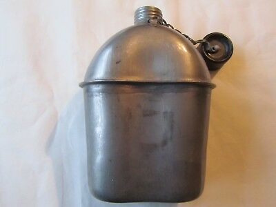 Ww2 1945 Us Army/marines Canteen - Dated - By S.m. Co.