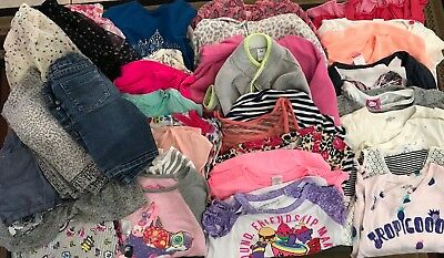Mixed Lot Of 39 Girls S6/6x Clothes