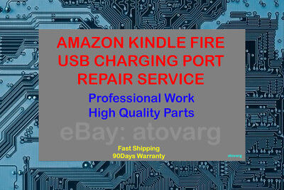 DC Jack Micro USB CHARGING PORT SOCKET For Amazon Kindle Fire 2nd Generation TO