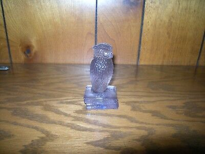westmoreland owl purple standing on books