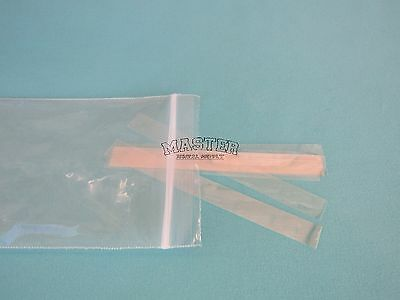 "100 Dental Mylar Matrix Strips Composite Celluloid Matrix Strip Bands 4""L 3/8""W"