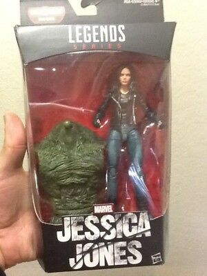 "Marvel Legends Netflix JESSICA JONES 6"" Figure Marvel Knights BAF Man-Thing New"