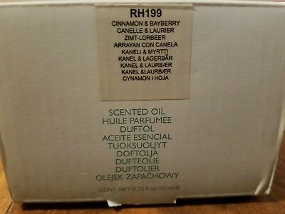 Partylite - Scented Oil - Cinnamon & Bayberry - New In Box