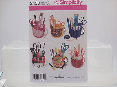 Simplicity 2450, Mug Covers, Great Christmas Craft/Gift, One Size Pattern