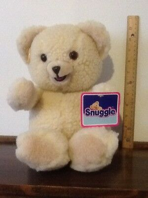 New with Tags Vintage 15 inch Snuggle Plush Teddy Bear by Russ