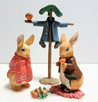 Peter Rabbit Figures set 2003 Collectible Japan Cute  F/S