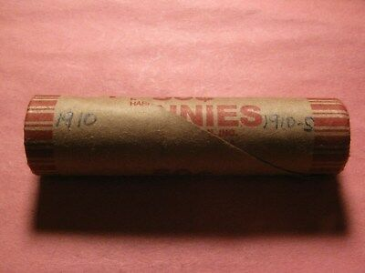 Sealed Wheat/indian Cent Penny Roll With 1910 & 1910-S Ends