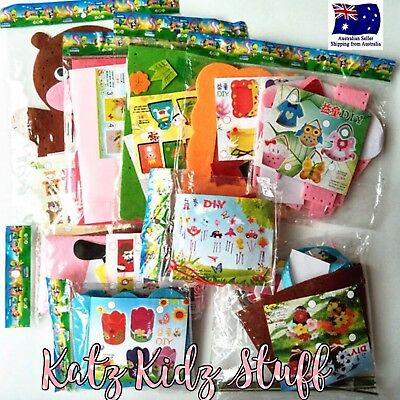 3D DIY Felt craft Kits for kids variety available