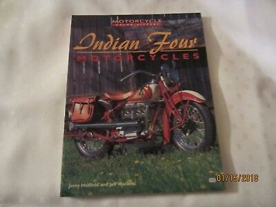 Indian Four Motorcycles by Jerry Hatfield