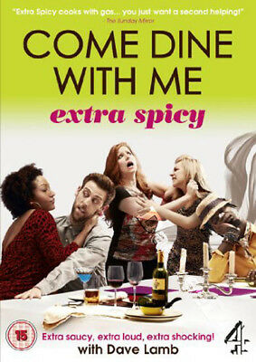 Come Dine with Me - Extra Spicey NEW PAL Series DVD Riffi Khan Dave Lamb