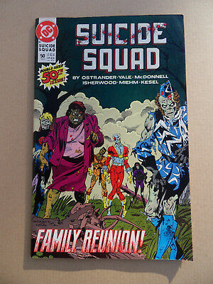 Suicide Squad 50 . Double Size . DC 1991 . FN / VF